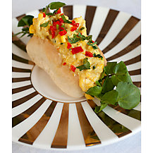 Gizzi Erskine's Coronation Chicken with Watercress and Mango Salsa