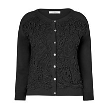 Buy L.K. Bennett Anzi Cardigan, Black Online at johnlewis.com