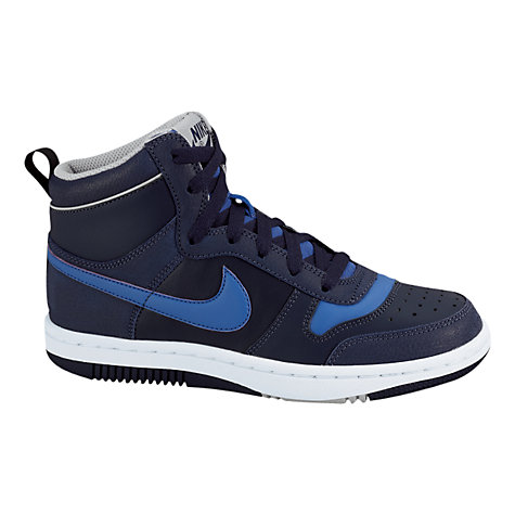 Buy Nike Skyteam Trainers, Black/Royal Blue Online at johnlewis.com