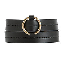 Buy Collection WEEKEND by John Lewis Round Buckle Belt Online at johnlewis.com