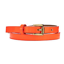 Buy Collection WEEKEND by John Lewis Bright Skinny Belt Online at johnlewis.com