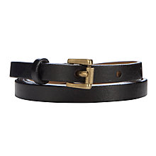Buy Collection WEEKEND by John Lewis Skinny Belt Online at johnlewis.com