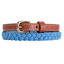Buy Collection WEEKEND Skinny Plait Belt Online at johnlewis.com
