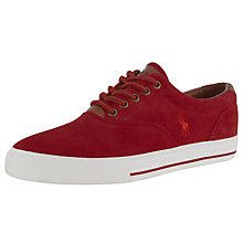 Buy Polo Ralph Lauren Vaughn Suede and Leather Trainers Online at johnlewis.com
