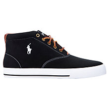 Buy Polo Ralph Lauren Zale Canvas Boots Online at johnlewis.com