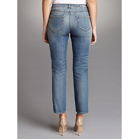 Buy Weekend by MaxMara Kick Flare Cropped Jeans, Denim Online at johnlewis.com