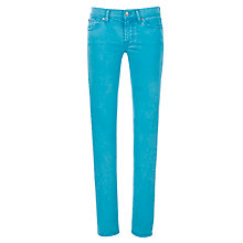 Buy 7 For All Mankind Roxanne Slim Jeans, Capri Blue Online at johnlewis.com