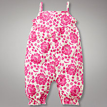 Buy John Lewis Flower Playsuit Online at johnlewis.com