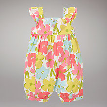 Buy John Lewis Floral Playsuit Online at johnlewis.com