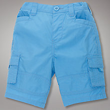 Buy John Lewis Poplin Cargo Shorts Online at johnlewis.com