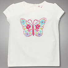 Buy John Lewis Butterfly T-Shirt Online at johnlewis.com