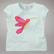 Buy John Lewis Hummingbird T-Shirt, Turquoise Online at johnlewis.com