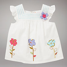 Buy John Lewis Flower Top Online at johnlewis.com