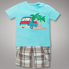 Buy John Lewis Van T-Shirt and Checked Shorts Online at johnlewis.com