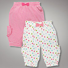 Buy John Lewis Bloomer Shorts, Set of 2 Online at johnlewis.com