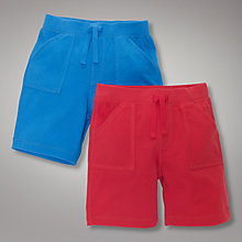 Buy John Lewis Jersey Shorts, Pack of 2 Online at johnlewis.com