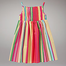Buy John Lewis Striped Dress, Multi Online at johnlewis.com
