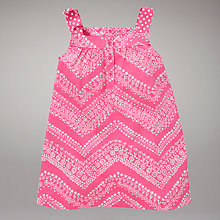Buy John Lewis Bandana Dress, Pink Online at johnlewis.com