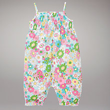 Buy John Lewis Floral Playsuit, Multi Online at johnlewis.com
