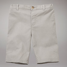 Buy John Lewis Linen Mix Shorts, Stone Online at johnlewis.com