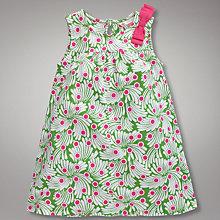 Buy John Lewis Printed Dress, Green Online at johnlewis.com