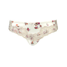 Buy John Lewis Louisa Pansy Thong, Multi Online at johnlewis.com