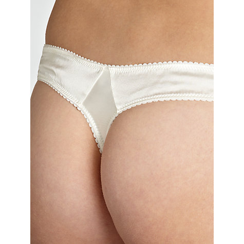 Buy COLLECTION by John Lewis Fiona Thong, Ivory Online at johnlewis.com