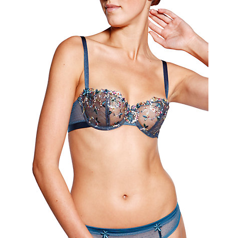 Buy Chantelle Palais Royal Balcony Bra, English Garden Online at johnlewis.com