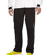Buy Reebok Men's Wind Proof Trousers, Black Online at johnlewis.com