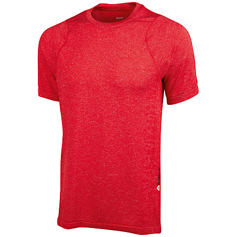 Buy Reebok RealFlex Seamless Short Sleeve Men's T-Shirt Online at johnlewis.com