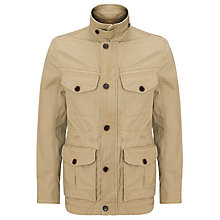 Buy Timberland Earthkeepers Abington Canvas Parka Jacket, British Khaki Online at johnlewis.com