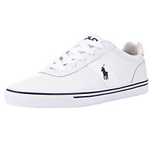 Buy Polo Ralph Lauren Hanford Leather Trainers Online at johnlewis.com