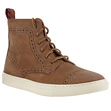 Buy Polo Ralph Lauren Jarrod Brogue Boots Online at johnlewis.com