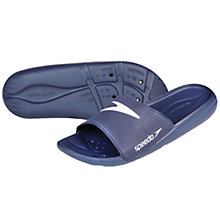 Buy Speedo Men's Atami Core Slide Sandals, Navy Online at johnlewis.com