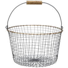Buy Nkuku Bahima Wire Basket Online at johnlewis.com