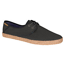 Buy Ted Baker Drill 2 Lace Up Espadrilles Online at johnlewis.com