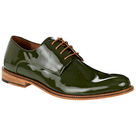 Buy Ted Baker Etter Patent Derby Shoes Online at johnlewis.com