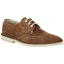 Buy Ted Baker Jamfro Suede Brogue Derby Shoes Online at johnlewis.com