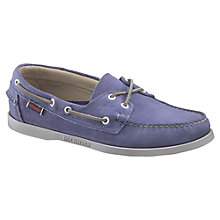 Buy Sebago Dockside 2 Eyelets Leather Boat Shoes Online at johnlewis.com