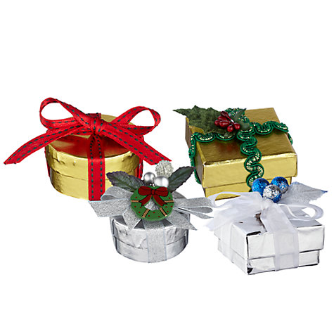 Buy Make Your Own Christmas Gift Boxes Online at johnlewis.com