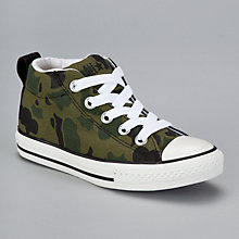 Buy Converse Chuck Taylor All Star Street Hi Trainers, Camo Online at johnlewis.com