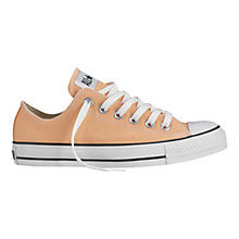 Buy Converse All Stars Canvas Trainers, Peach Cobbler Online at johnlewis.com