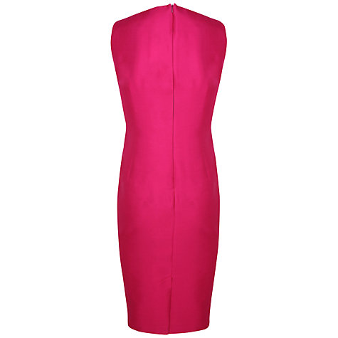 Buy Alexon Wool Silk Sleeveless Dress, Pink Online at johnlewis.com