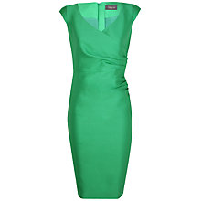 Buy Alexon Wool Silk Dress, Green Online at johnlewis.com