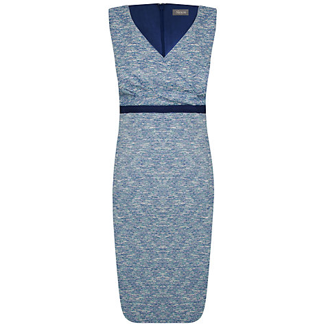 Buy Alexon Tweed Dress, Green Online at johnlewis.com
