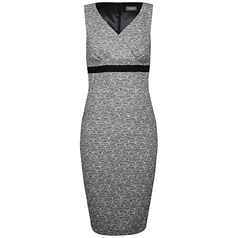 Buy Alexon Tweed Dress, Grey Online at johnlewis.com