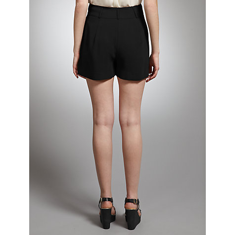 Buy Somerset by Alice Temperley Tailored Shorts, Black Online at johnlewis.com