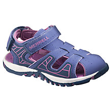 Buy Merrell Spinster Deck Sandals, Purple Online at johnlewis.com