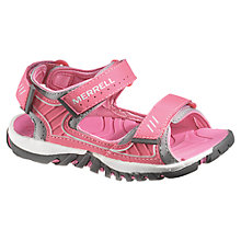 Buy Merrell Spinster Splash Sandals, Pink Online at johnlewis.com