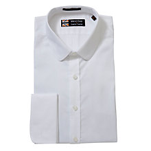 Buy West End by Simon Carter Plain Shirt, White Online at johnlewis.com